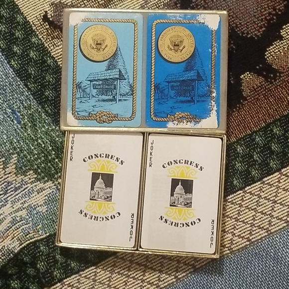 Camp David Double Deck of Playing Cards